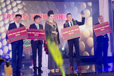 "Long Hoang Company rewarded ""huge"" prizes in year end celebration!"