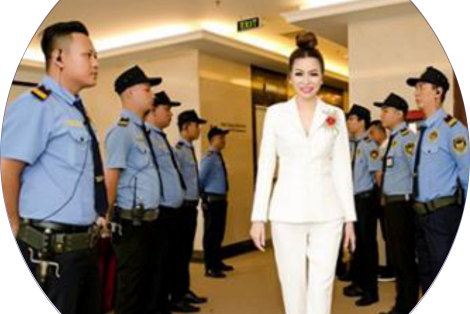 Security services for VIPs